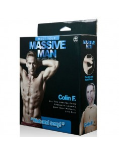 MASSIVE MAN MUÑECO HINCHABLE COLIN F.