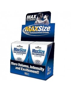 SWISS NAVY MAXSIZE INTENSIFICADOR PLACER EL DISPLAY 24UDS 4ML