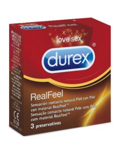 DUREX REAL FEEL 3 UDS