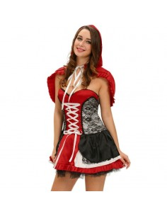 QUEEN LITTLE CAPERUCITA ROJA TALLA M