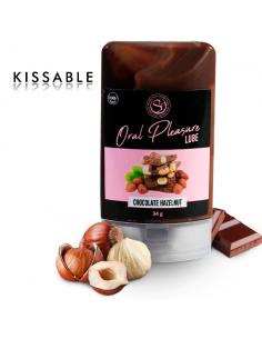 SECRETPLAY LUBRICANTE COMESTIBLE CHOCOLATE Y AVELLANAS