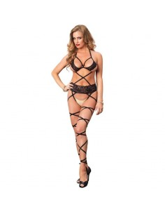 LEG AVENUE BODYSTOCKING DE CORREAS TALLA UNICA