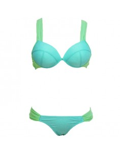 QUEEN SUMMER BIKINI BLUE LIGHT TALLA L